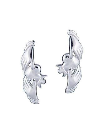 Claddagh Crawler Earring