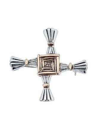 St. Brigid Cross Brooch