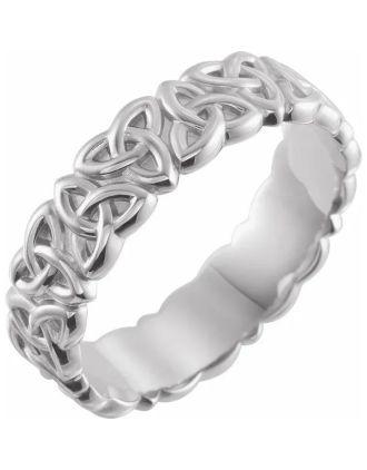 Mens Celtic Trinity Wedding Ring | Mens Celtic Wedding Ring