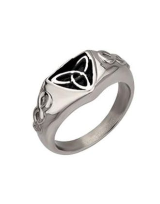 Stainless Steel Trinity Ring