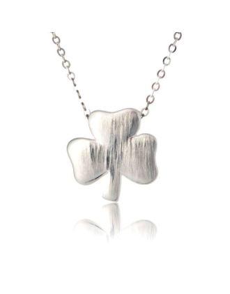 Modern Shamrock Necklace