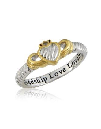 Aran Claddagh Ring