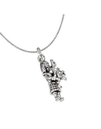 Bagpiper Charm Necklace