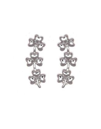 shamrock Crawler Earring