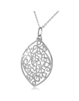 Shamrock Irish Lace Necklace