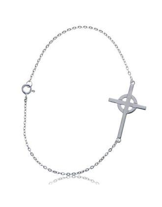Celtic Sideways Cross bracelet