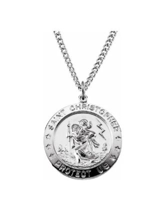 St. Christopher Medal with Irish Saying