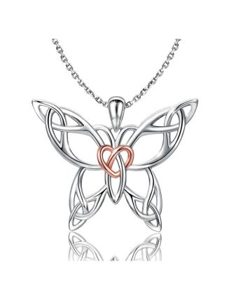 Celtic Knot Butterfly Pendant   Celtic Butterfly Meaning