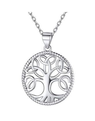 Tree of Life Necklace | Celtic Knot Tree of Life Pendant