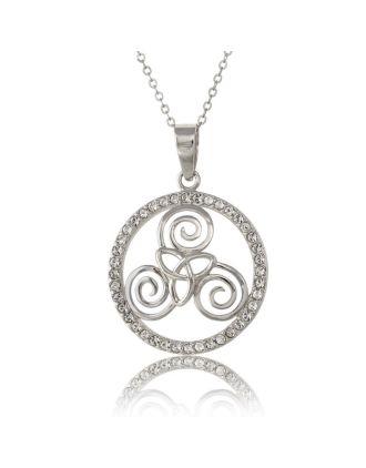 Triskele Trinity Necklace