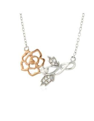 Wild Irish Rose Necklace