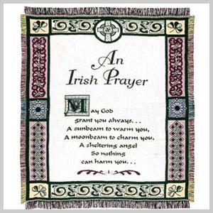 An Irish Prayer Throw Irish Throw Blanket Irish Prayer