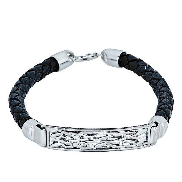 Mens Celtic Tag Leather Bracelet Men S Celtic Bracelet